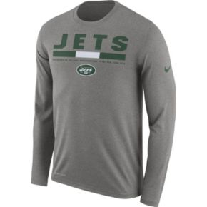 Men's Nike New York Jets Legend Staff Dri-FIT Long-Sleeve Tee