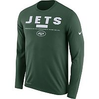 Men's Nike New York Jets Legend Staff Dri-FIT Long-Sleeve Tee