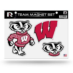 Wisconsin Badgers Team Magnet Set