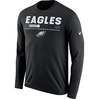 Men's Nike Philadelphia Eagles Legend Staff Dri-FIT Long-Sleeve Tee