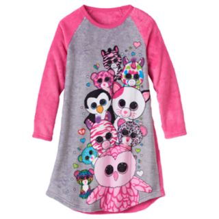 Girls 4-12 TY Beanie Boos Plush Nightgown