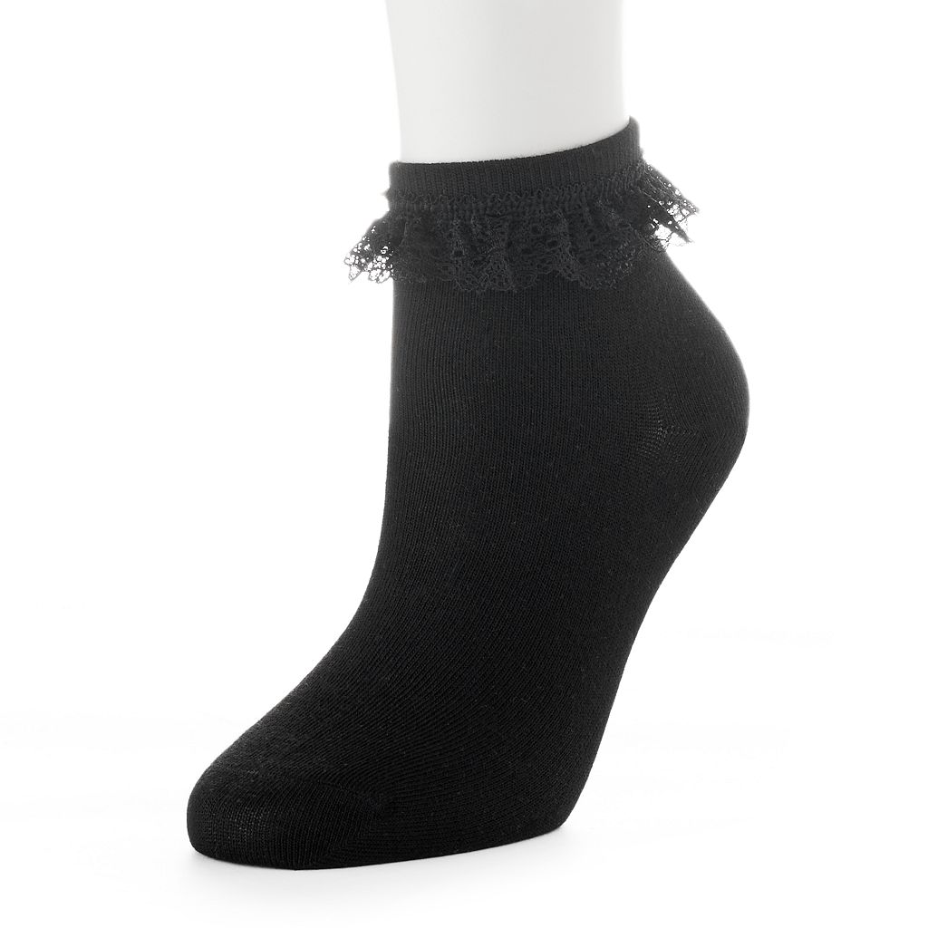 Women's Lace Ankle Socks