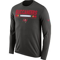 Men's Nike Tampa Bay Buccaneers Legend Staff Dri-FIT Long-Sleeve Tee