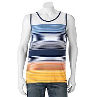 Men's Ocean Current Striped Tank Top