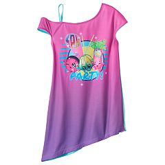Girls 4-12 Shopkins Mia Mirror Ball, Jiggly Jelly & Jodie Glow Sticks 'Party!' One-Shoulder Nightgown