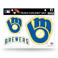 Milwaukee Brewers Team Magnet Set