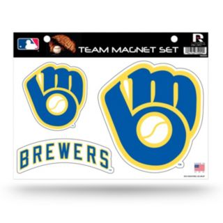 Milwaukee Brewers Team Magnet Set