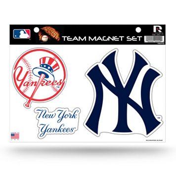 New York Yankees Team Magnet Set