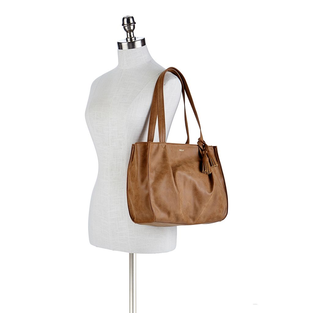 Relic Callie Pleated Double Shoulder Bag