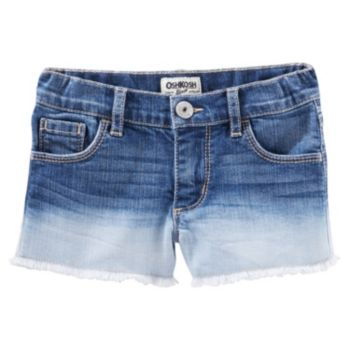 Toddler Girl OshKosh B'gosh® Faded Frayed-Hem Shorts