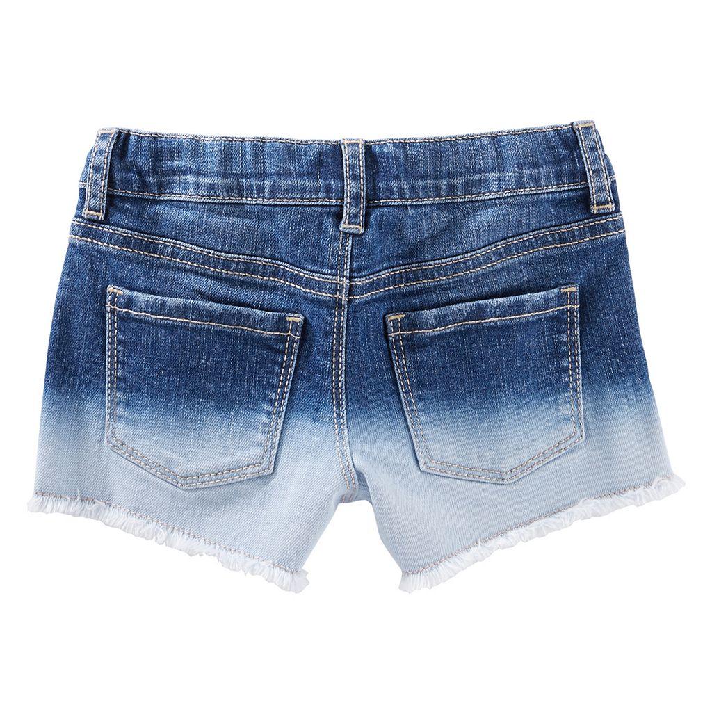 Toddler Girl OshKosh B'gosh® Faded Frayed-Hem Shorts