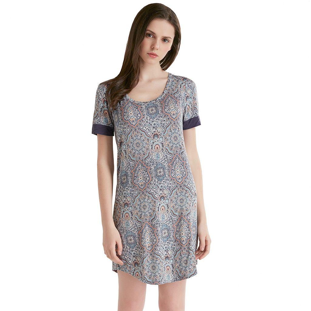 Women's INK+IVY Pajamas: Short Sleeve Sleep Shirt