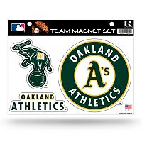 Oakland Athletics Team Magnet Set