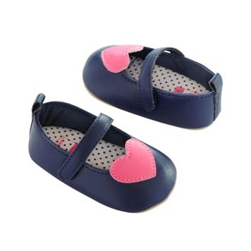 Baby Girl Carter's Heart Mary Jane Crib Shoes