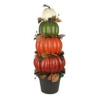 Celebrate Fall Together Indoor / Outdoor Artificial Pumpkin Floor Decor