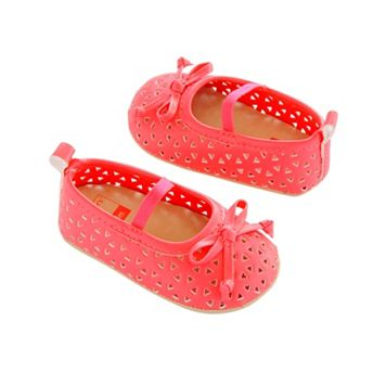 Baby Girl Carter's Perforated Mary Jane Crib Shoes