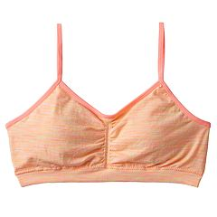 Girls 7-16 Maidenform Space-Dyed Crop Bra