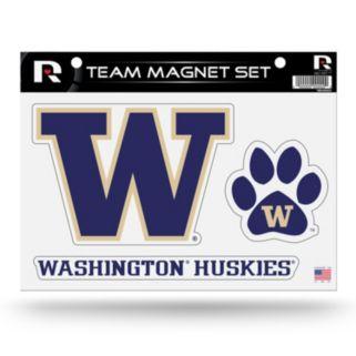 Washington Huskies Team Magnet Set
