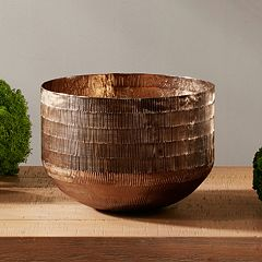 INK+IVY Fitz Decorative Brass Bowl Table Decor