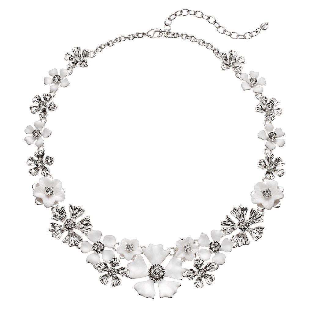 Napier Flower Statement Necklace