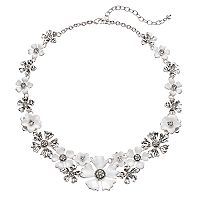 Napier Flower Statement Necklace