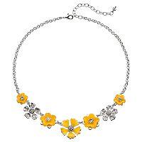 Napier Graduated Flower Necklace