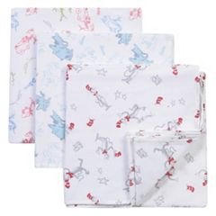 Dr. Seuss 3-pk. Muslin Swaddle Blanket Set by Trend Lab