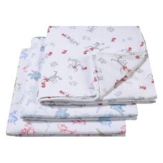 Dr. Seuss 3-pk. Muslin Swaddle Blanket Set by Trend Lab