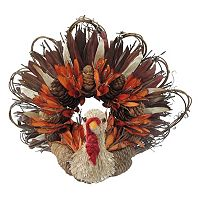 Celebrate Fall Together Artificial Turkey Table Decor