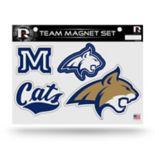 Montana State Bobcats Team Magnet Set
