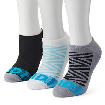 Women's adidas 3-pk. Zigzag climalite No-Show Socks