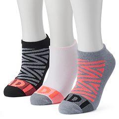 Women's adidas 3 pkZigzag climalite No-Show Socks