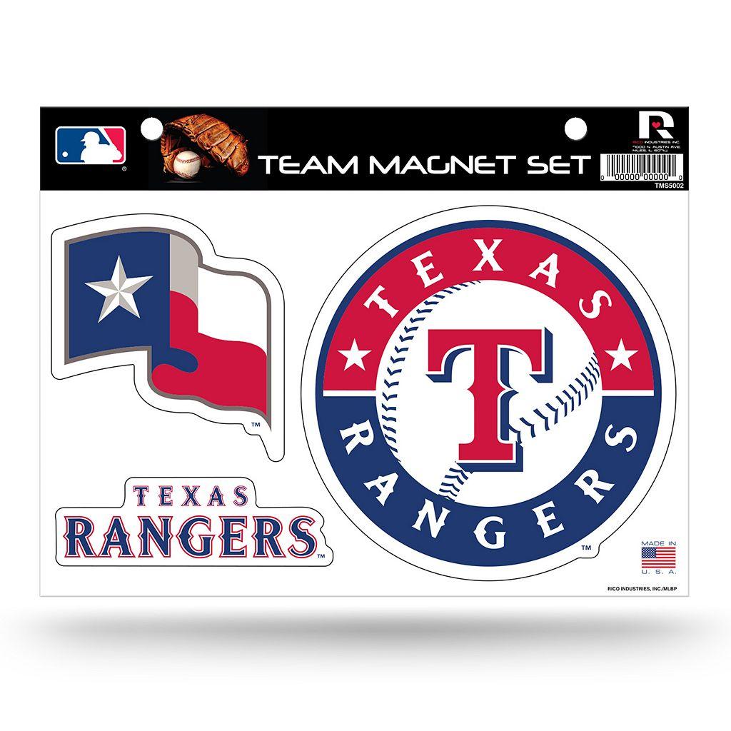 Texas Rangers Team Magnet Set