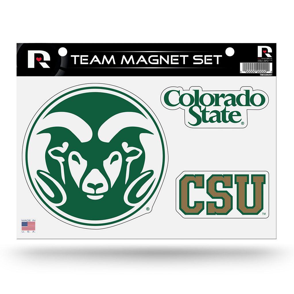Colorado State Rams Team Magnet Set