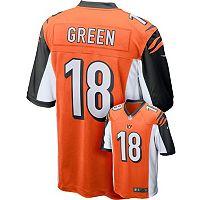 Men's Nike Cincinnati Bengals A. J. Green Replica NFL Jersey