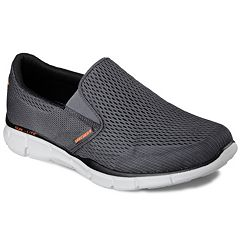quality design 047ef 23f67 Skechers Equalizer Double Play Men s Shoes. Black Navy Charcoal