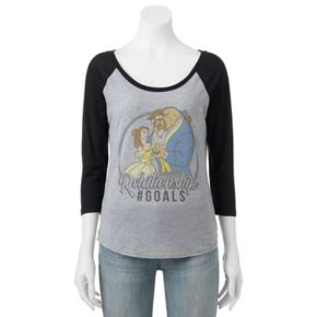 "Disney's Beauty and the Beast Juniors' ""Relationship Goals"" Graphic Tee"