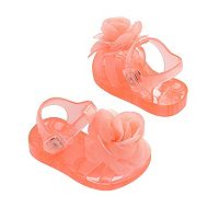 Baby Girl Carter's Jelly Sandal Crib Shoes