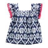 Girls 4-12 OshKosh B'gosh® Print Fringe Top