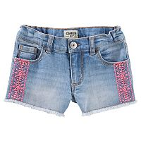 Girls 4-12 OshKosh B'gosh® Embroidered Denim Shorts