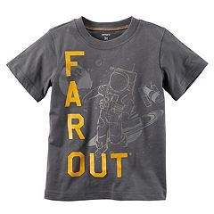 Baby Boy Carter's 'Far Out' Short Sleeve Astronaut Tee