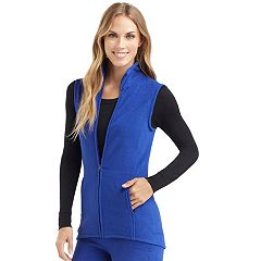 Women's Cuddl Duds Stretch Fleece Vest