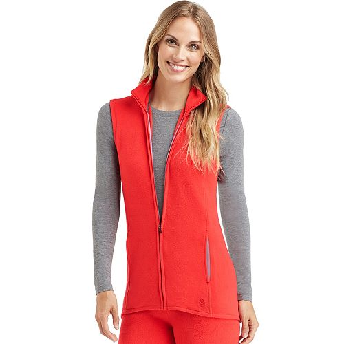 Women's Cuddl Duds Stretch Fleece Vest