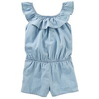 Girls 4-6x Carter's Chambray Romper