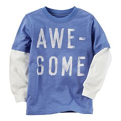 Baby Boy Carter's 'Awesome' Mock-Layered Tee