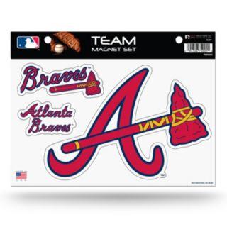 Atlanta Braves Team Magnet Set