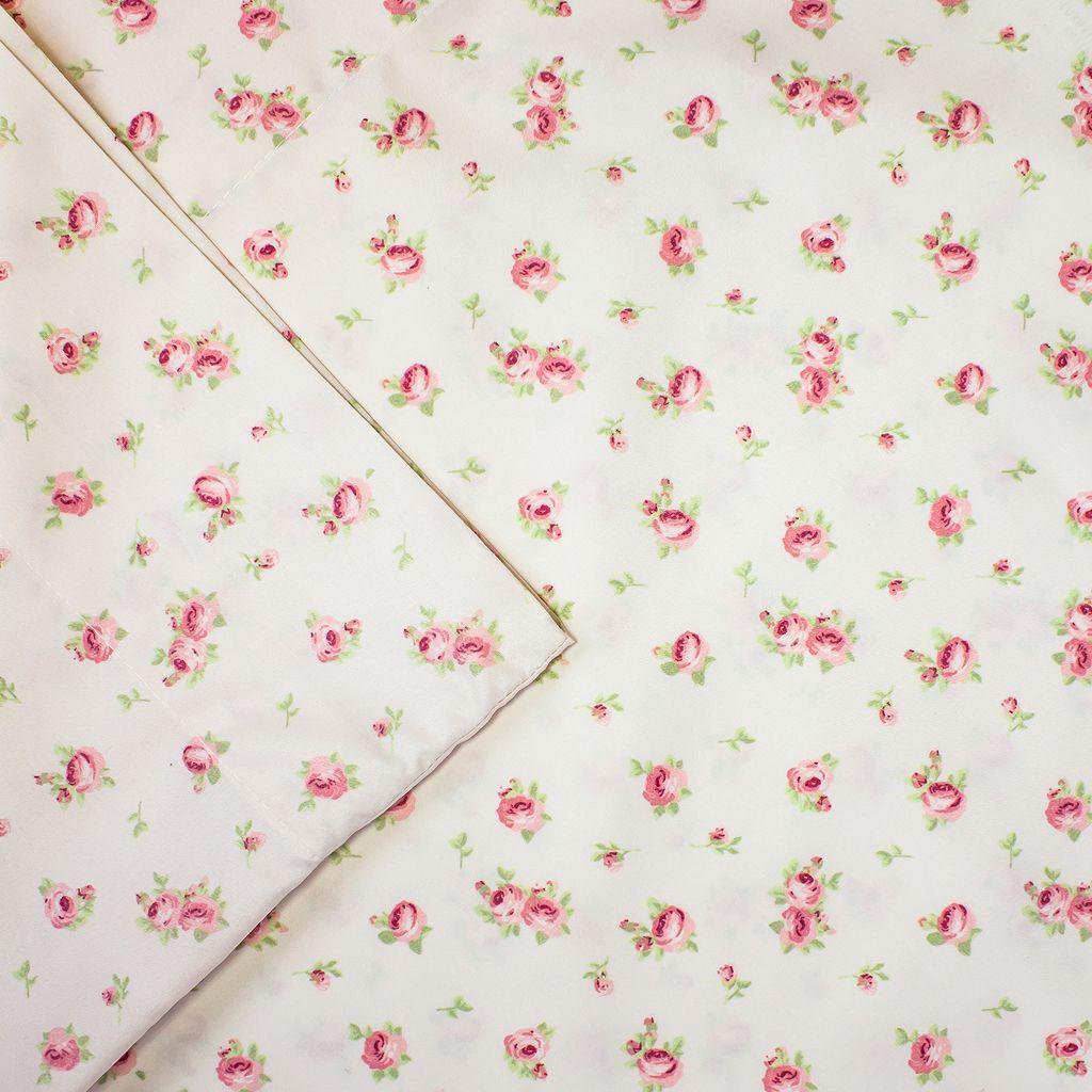 Sweet Rose Print Sheet Set