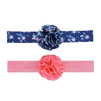 Baby Girl Carter's 2-pk. Floral Rosette Head Wrap Set
