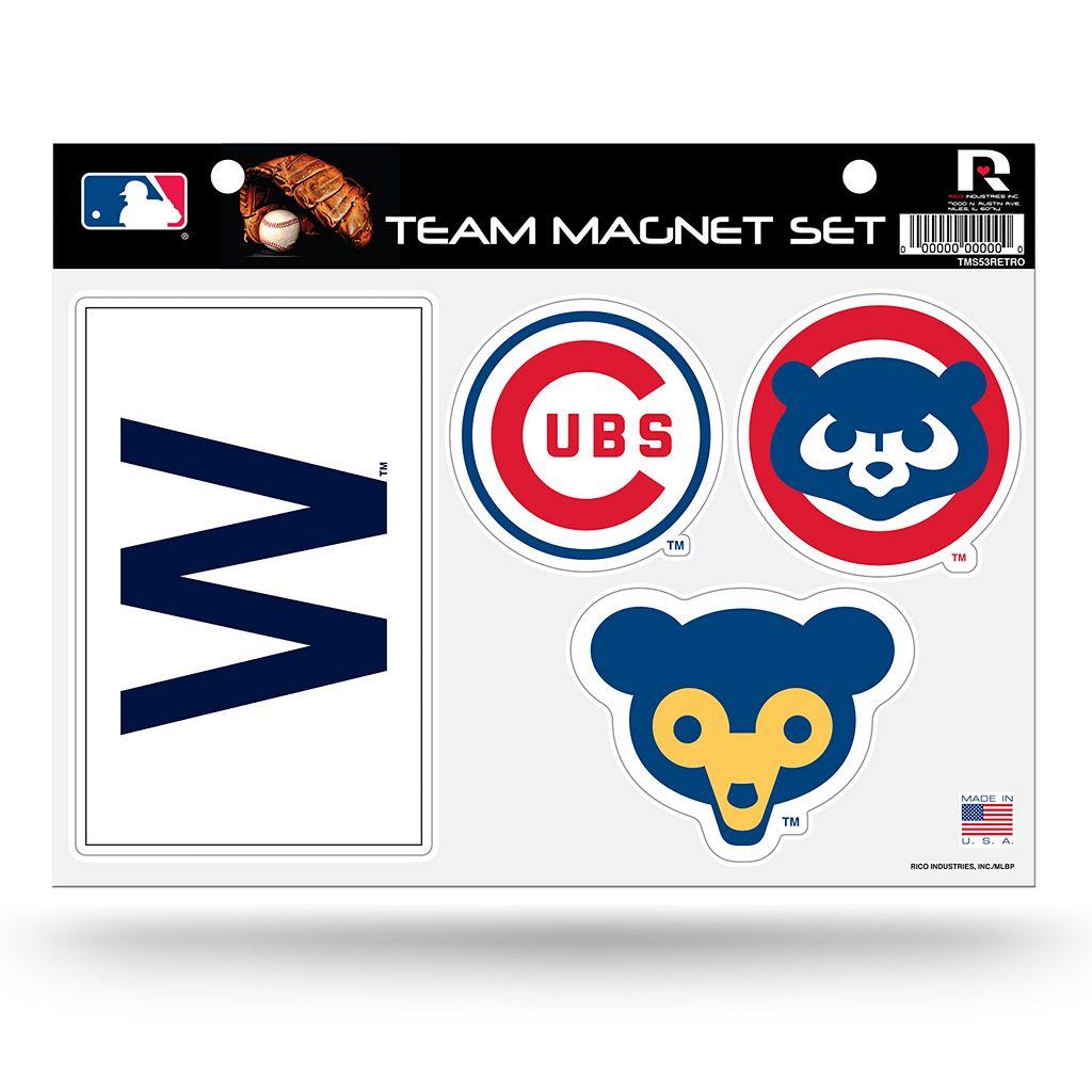 Chicago Cubs Team Magnet Set