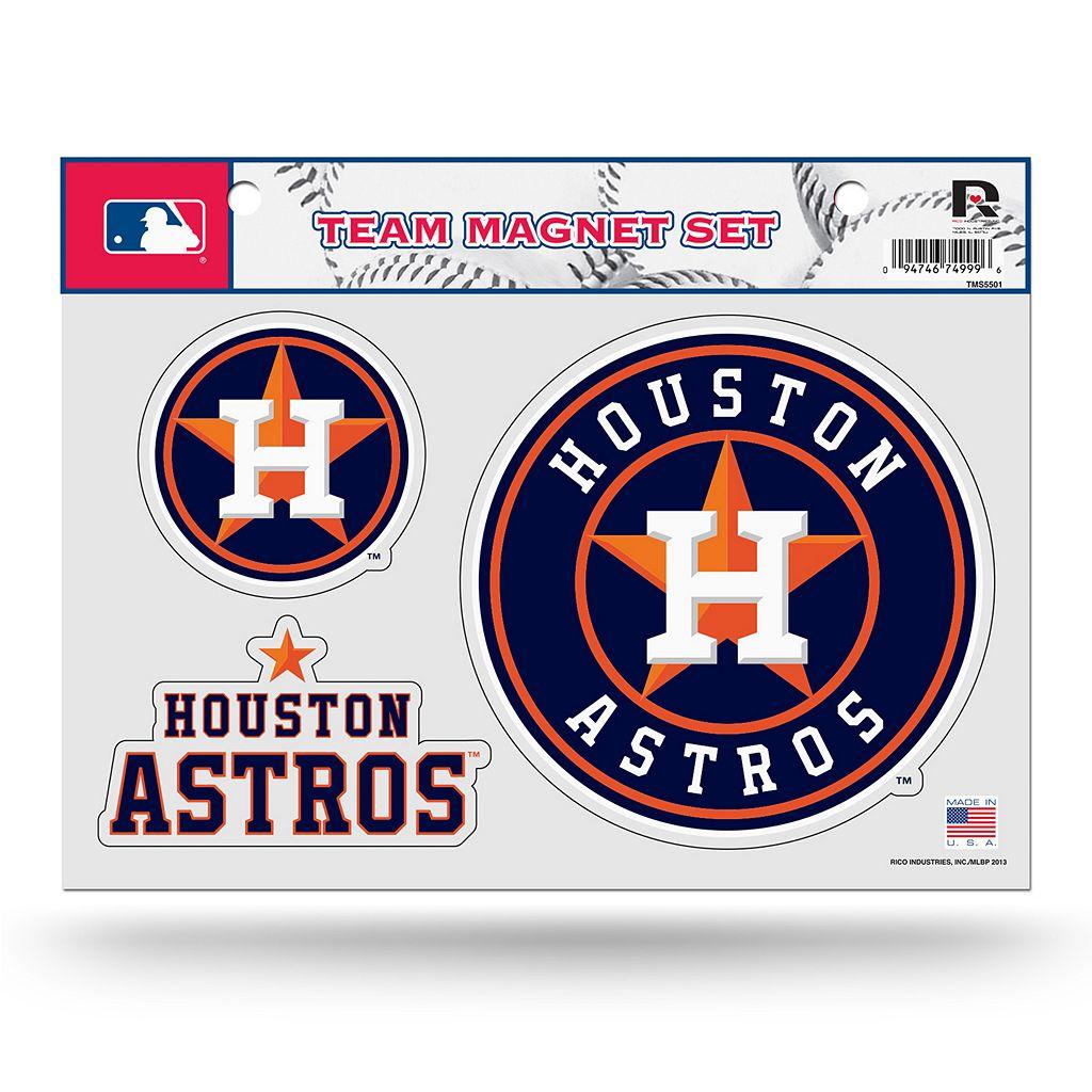 Houston Astros Team Magnet Set